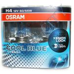 Лампа Osram Н4 60/55+20% (64193 СВI) Cool Blue Intense 4200k EuroBox (2шт)